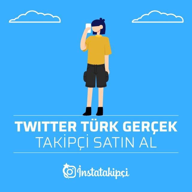 Twitter Türk Gerçek Takipçi Satın Al