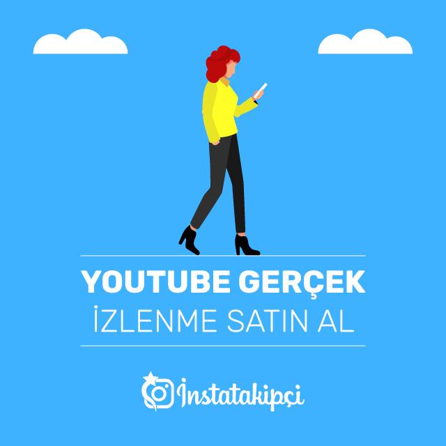 youtube gerçek izlenme satın al