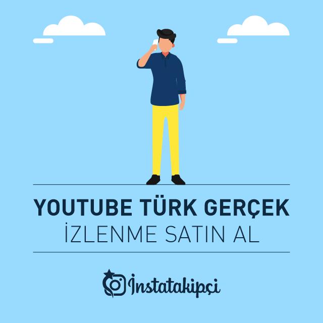 youtube türk gerçek izlenme