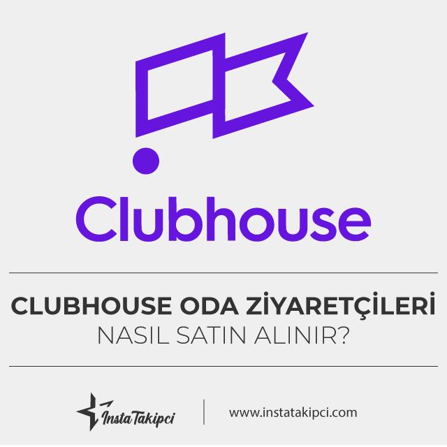 Clubhouse oda ziyaretçileri nasıl satın alınır?