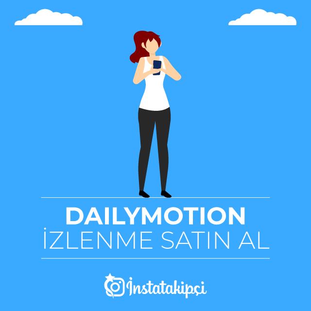 Dailymotion İzlenme Satın Al - %100 Gerçek