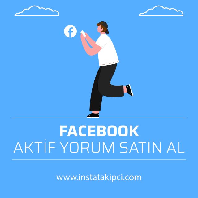 facebook aktif yorum satın al