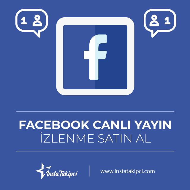Facebook Canlı Yayın İzlenme Satın Al