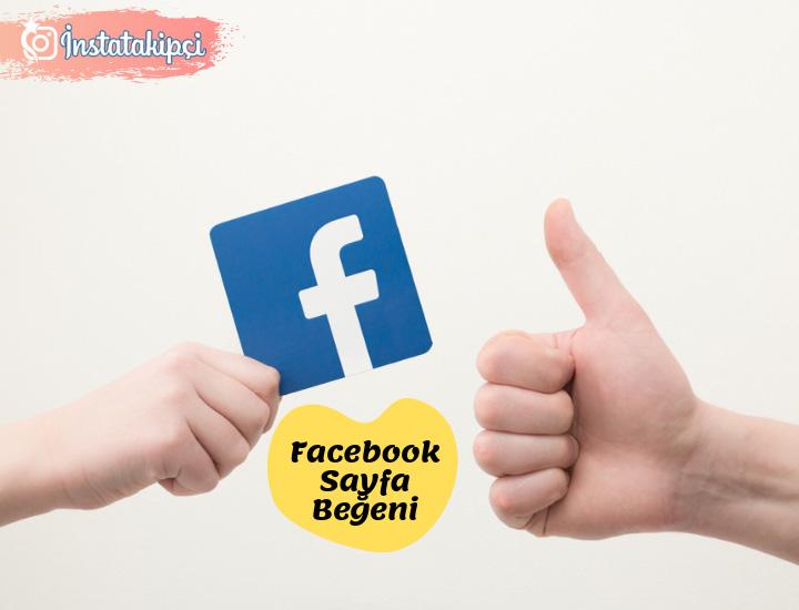 facebook sayfa beğeni