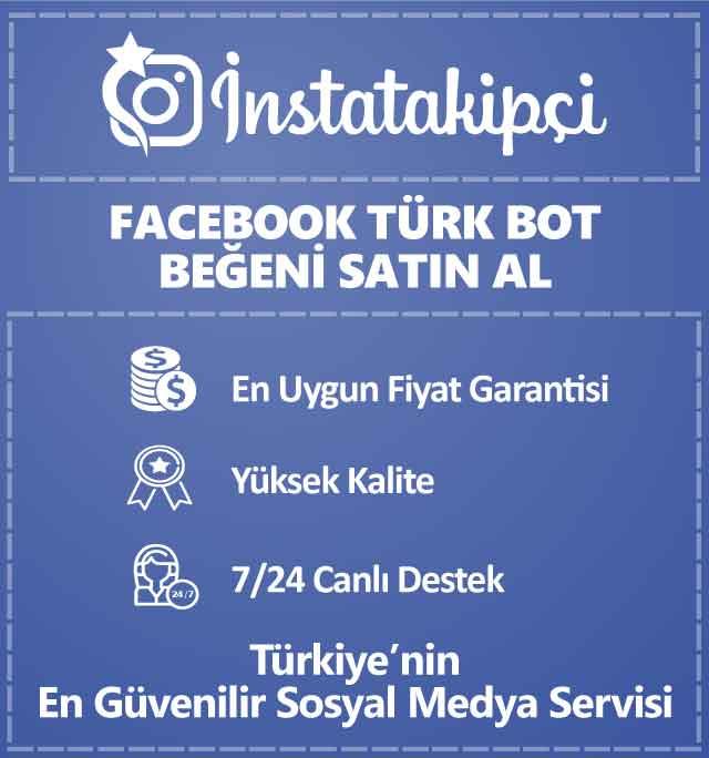Facebook Türk Bot Beğeni Satın Al