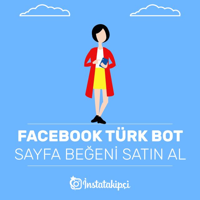 facebook türk bot sayfa beğeni