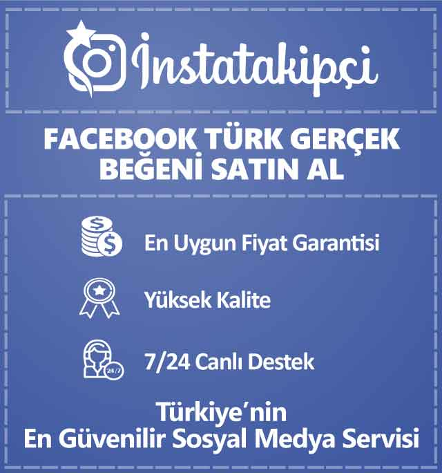 Facebook Türk Gerçek Beğeni Satın Al