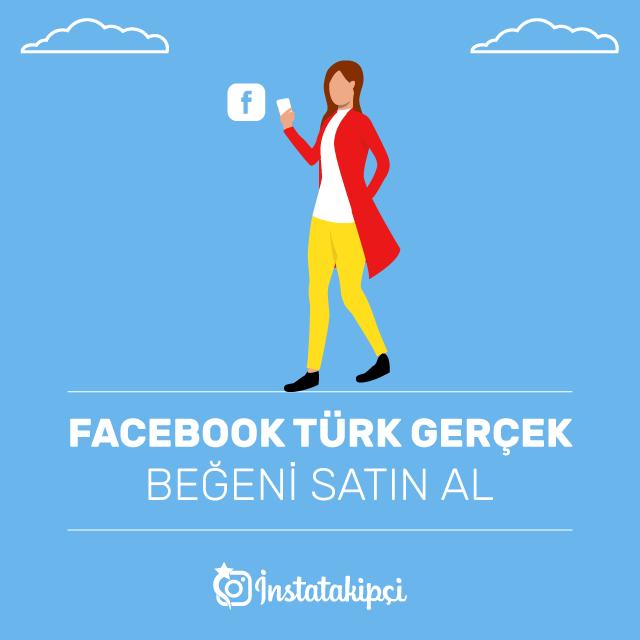 facebook türk gerçek beğeni