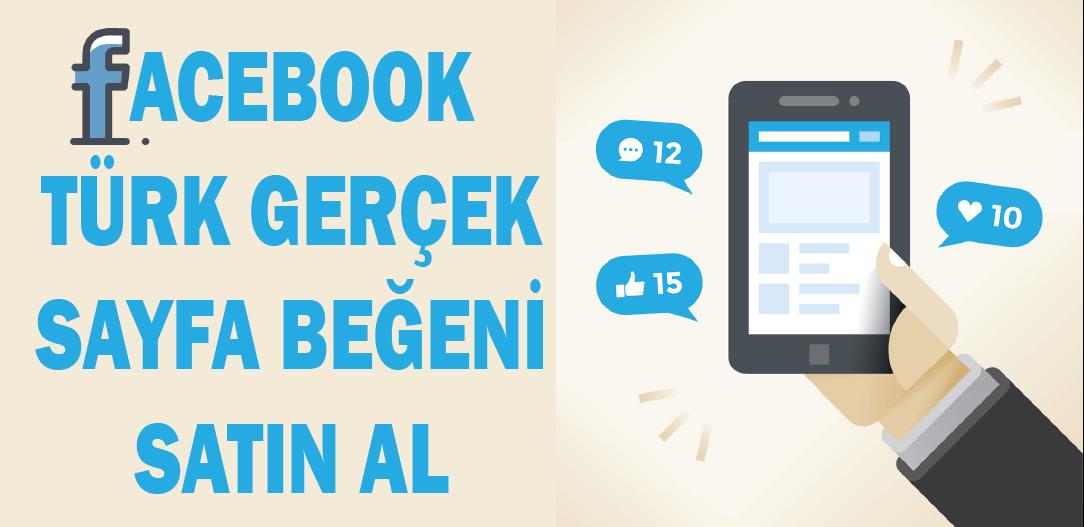 Facebook Türk Gerçek Sayfa Beğeni Al