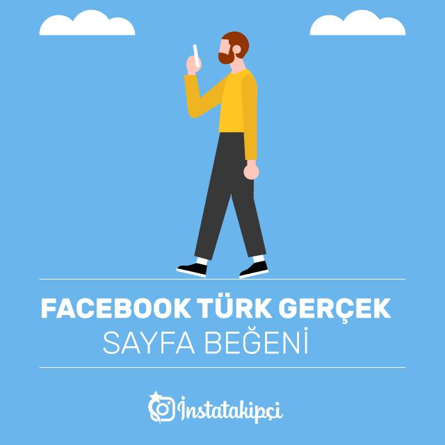 Facebook Türk Gerçek Sayfa Beğeni