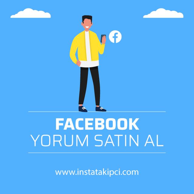 Facebook yorum satın al