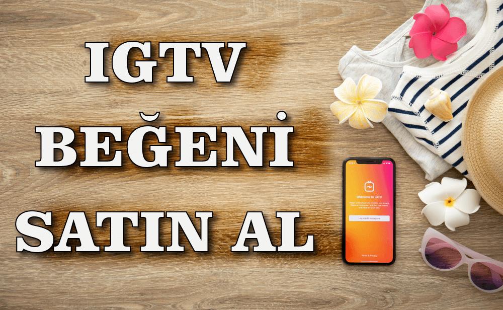 Instagram IGTV Beğeni Satın Al