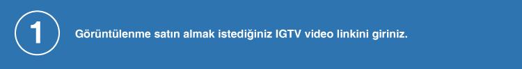 IGTV video linki giriniz