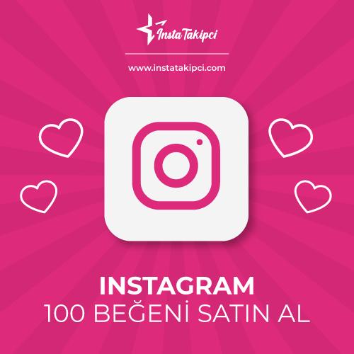 instagram 100 beğeni satın al