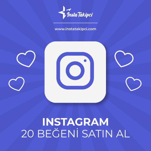 instagram 20 beğeni satın al