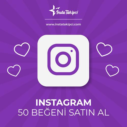 instagram 50 beğeni satın al