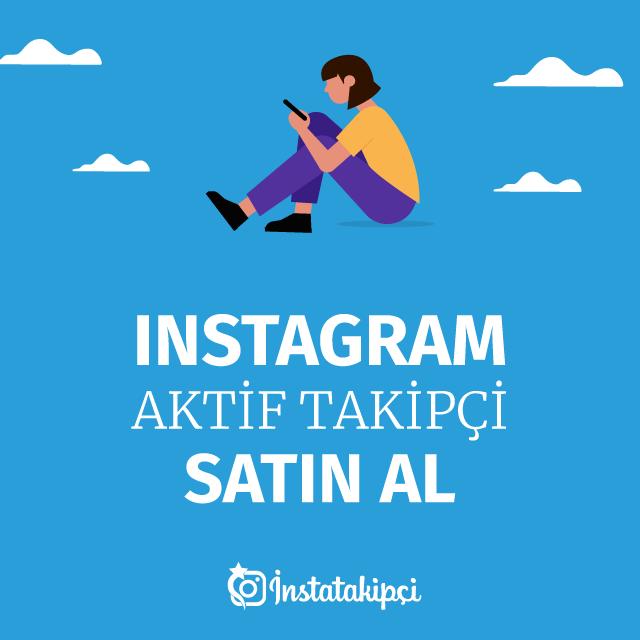 instagram aktif takipçi