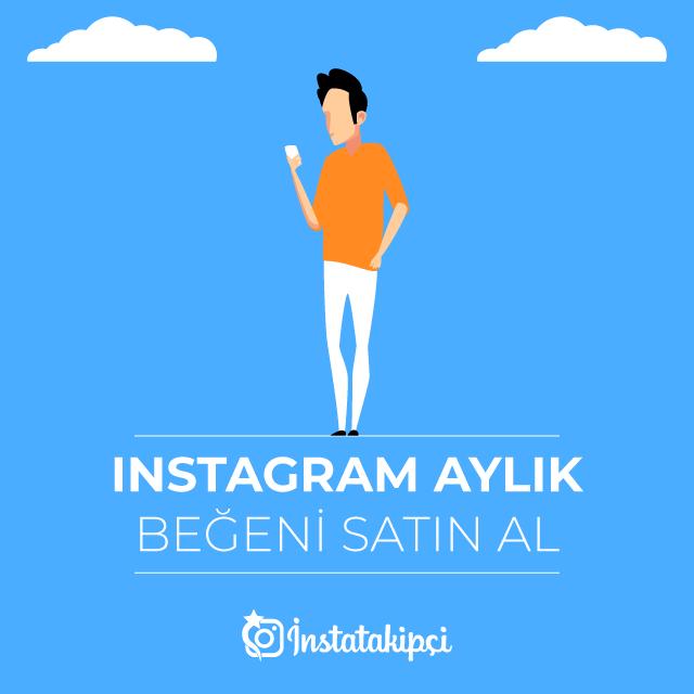 instagram aylık beğeni