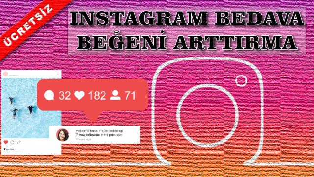 Instagram ücretsiz beğeni sitesi