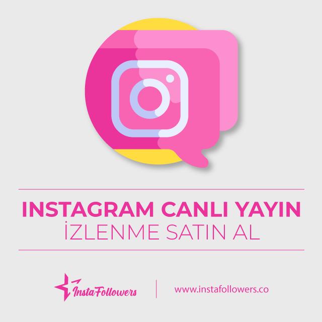 Instagram Canlı Yayın İzlenme Satın Al - Gerçek ve Garantili