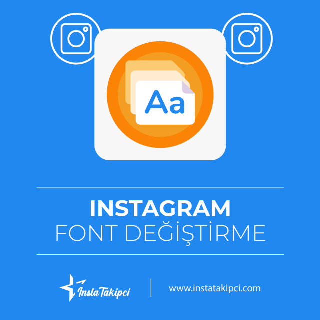 Instagram font değiştirme aracı kullanarak istediğiniz font ailesinde yazı oluşturabilirsiniz.