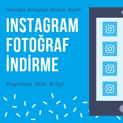 Instagram Fotoğraf İndirme Toplu Programsız