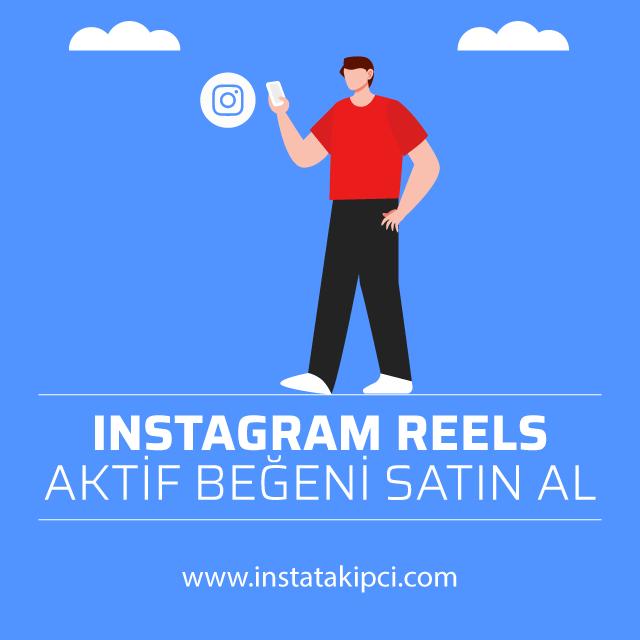 instagram reels aktif begeni satin al