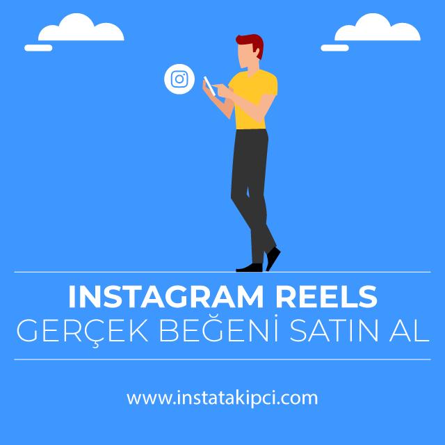 instagram reels gercek begeni satin al