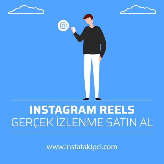 instagram reels gerçek izlenme satin al
