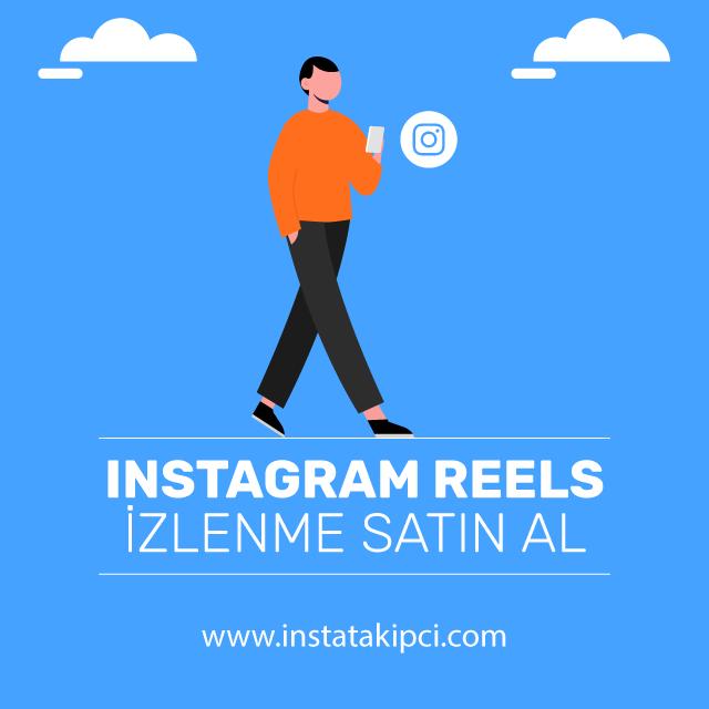 instagram reels izlenme satin al
