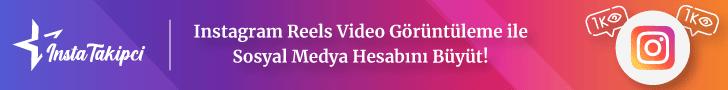 instagram reels video izlenme satın al