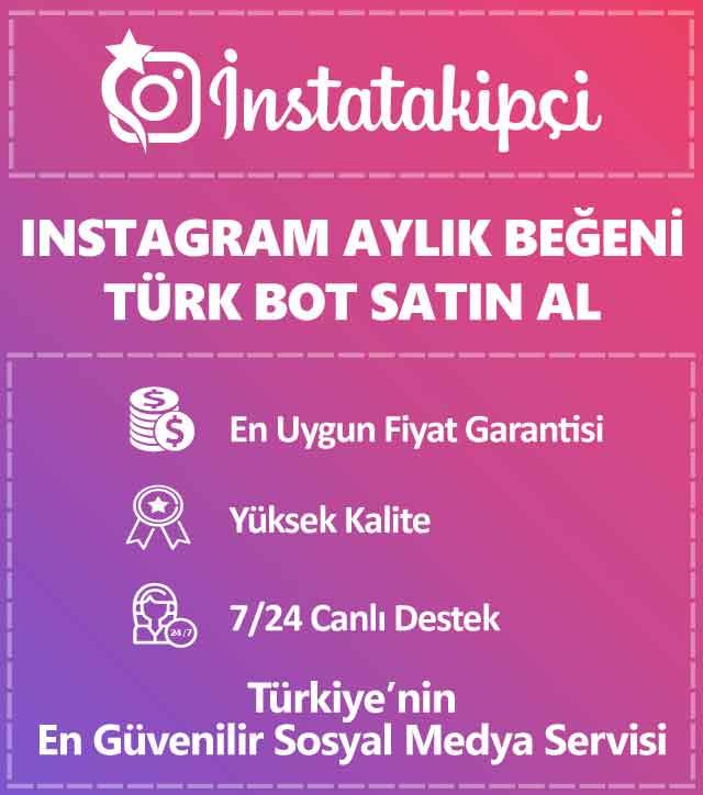 instagram aylık bot beğeni