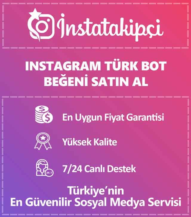 instagram türk bot beğeni