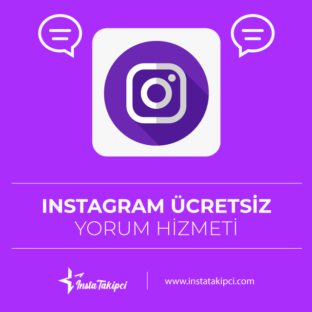 instagram ücüretsiz yorum arttırma