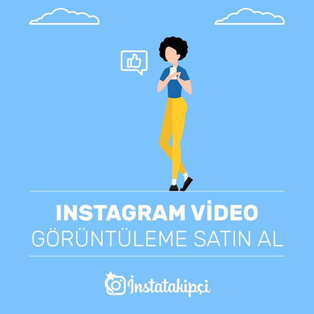 Instagram Video Görüntüleme Satın Al