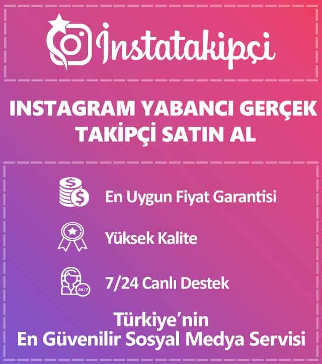 instagram yabancı takipçi