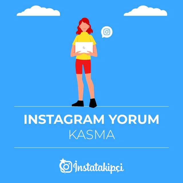 instagram yorum kasma