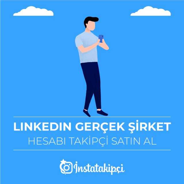 linkedin şirket takipçi arttırma