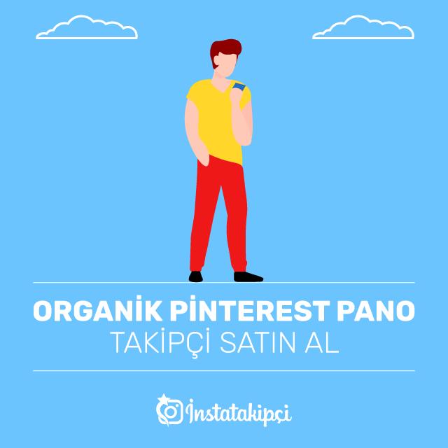 Organik Pinterest Pano Takipçi Satın Al