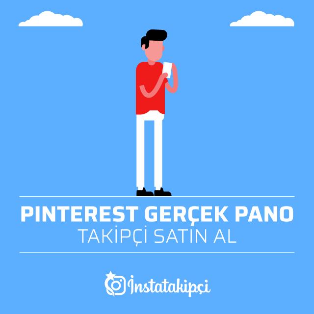 Pinterest Gerçek Pano Takipçi Satın Al