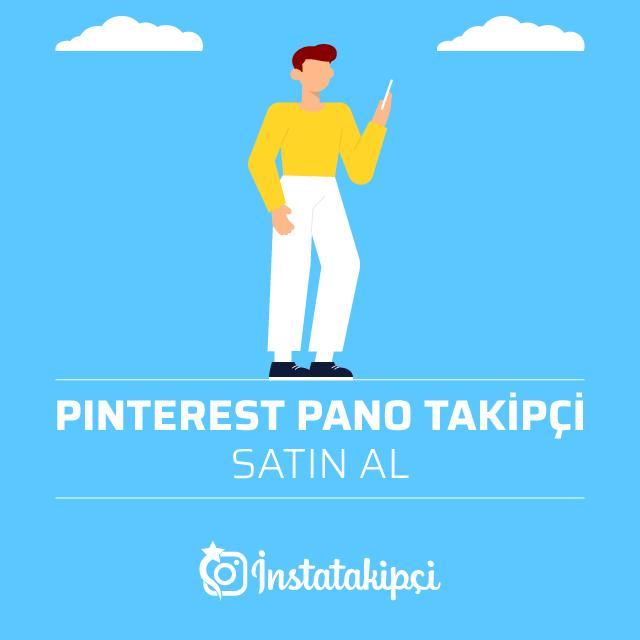 Pinterest Pano Takipçi Satın Al