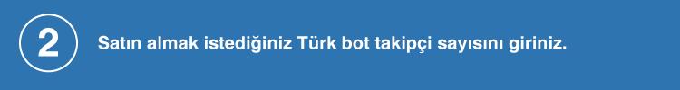 türk bot sayısını giriniz
