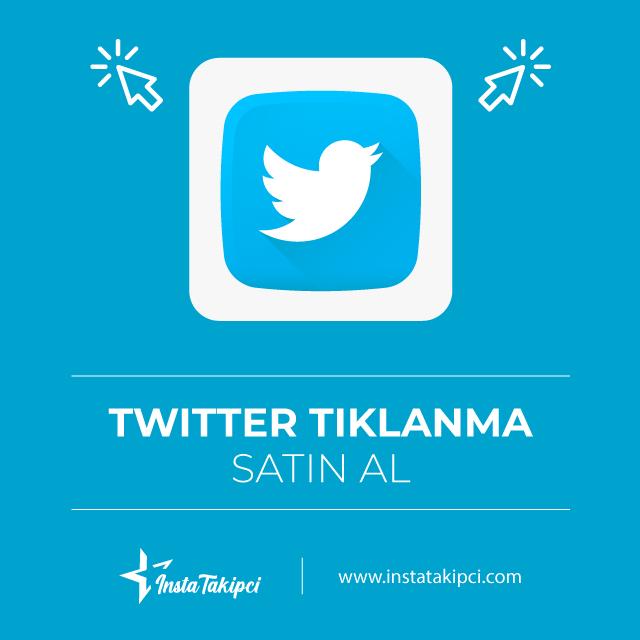 Twitter Tıklanma Satın Alın ve Ön Plana Çıkın!