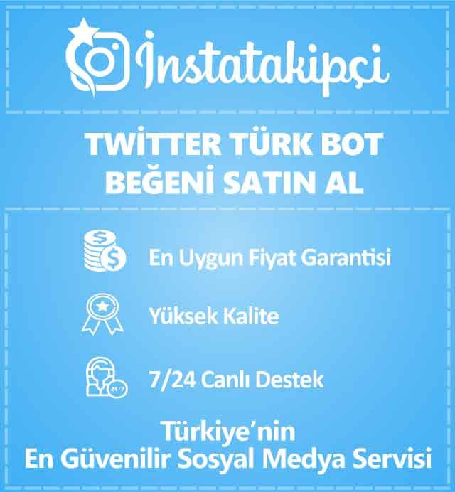 Twitter Türk Bot Beğeni Satın Al