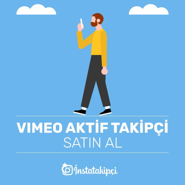 Vimeo Aktif Takipçi Satın Al