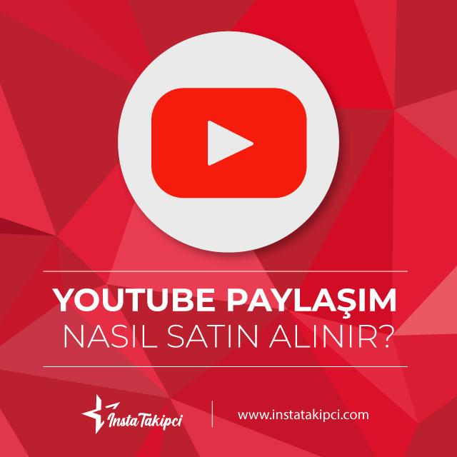 Youtube Paylaşım nasıl alınır
