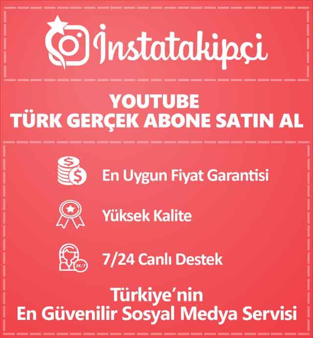 Youtube Türk Gerçek Abone Satın Al