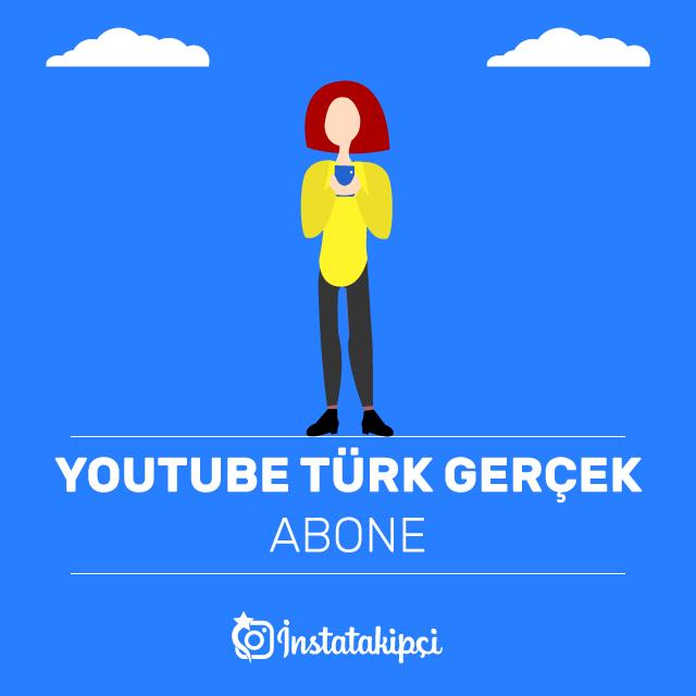 youtube türk gerçek abone